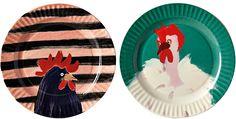 Design notebook: colour, pattern, fashion and fun - Telegraph - cool kitchen decor Anthropologie Uk, China Plates, Side Plates, Pattern Fashion, Cool Kitchens, Color Patterns, Kitchen Decor, Decorative Plates, Tableware