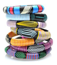 I adore all things cultural and these bracelets speak to a world of bright colors & African/Caribbean culture.