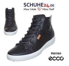 c35a7a8be8c22e Ecco Schnür-Stiefeletten schwarz Mens. Herren Stiefel ...