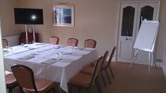 Victoria suite set as a meeting room