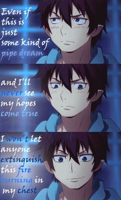 That's part of the Opening 1 of Ao no Exorcist, I just love this part of the music