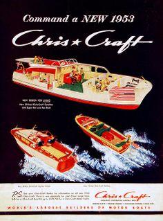 Chris Craft ad 1953