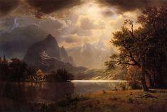 Albert Bierstadt, Estes Park, Colorado, 1869