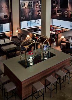 Room Service Lounge Bar, Ayre Hotel Astoria Palace. Interior design by CuldeSac™ #interiors #design #Valencia #hotel