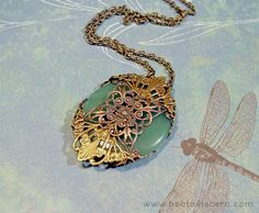 Green Adventurine And Brass
