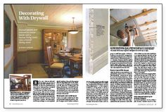 Decorating With Drywall