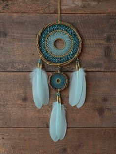 Azul regalo de la Dreamcatcher dream catcher sauce aro dream