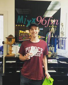 Congratulations to Brainstretcher winner, Dustin C! #winner #prize #free #radio #trivia #mymixx96