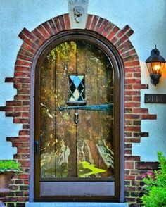 Richmond, Virginia door on Monument Avenue Knobs And Knockers, Door Knobs, Richmond Virginia, Virginia Usa, All About Doors, Windows And Doors, Front Doors, Unique Doors, Closed Doors