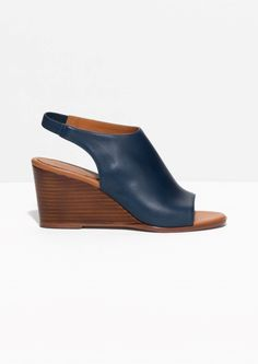 & Other Stories | Slingback Leather Wedges