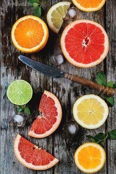 Sliced Citrus Fruits by Natasha Breen on 500px