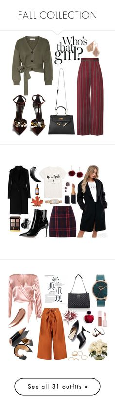 """FALL COLLECTION"" by mer084 ❤ liked on Polyvore featuring Apiece Apart, Lanvin, Kendra Scott, Giambattista Valli, Ralph Lauren, Oasis, Gianvito Rossi, Tom Ford, Maybelline and Jaeger-LeCoultre"