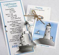 """Ann Clark Lighthouse Cookie Cutter 4 3/4"""" #1946"""
