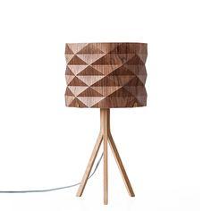 origami lampe mariko tischlampe aus holz und papier eine selbsttragende konstruktion http. Black Bedroom Furniture Sets. Home Design Ideas