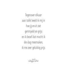 #versje #lievewoorden #geluk #liefde