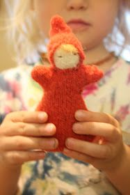 June Cleaver in yoga pants: crafty fall pumpkin dolls