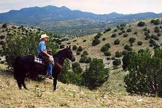 Broken Saddle Riding Co, Cerrillos, near Santa Fe New Mexico.  Best place to go horse back riding.
