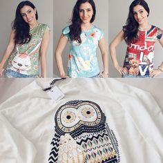choies roupas look do dia outfit coruja t-shirts