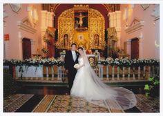long veil <3 historic church