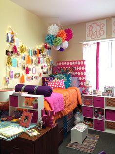 My college dorm room at Clemson!