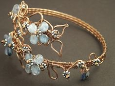 Copper Kyanite Armband by MaryTucker, via Flickr