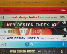 Our complete Web Design Index book collection 1-8.