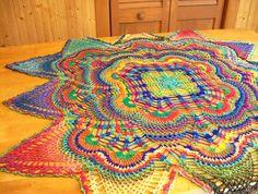 Inspiration only lovely lovely colours! #crochet