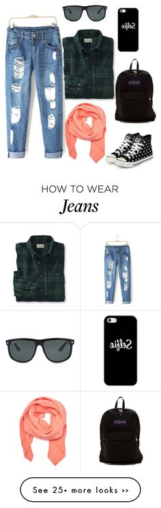 """boyfriend jeans for holiday"" by saukikemala on Polyvore"