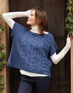 Book Woman Basics 11 Autumn / Winter   14: Woman Poncho   Jeans