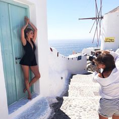 Yesterday's shoot with the lovely ladies @charlihayes & @gracemarkhamcaptures  #newarrivalscomingsoon #missrosaboutique #santorini