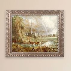 Salisbury Cathedral by John Constable Framed Painting Print