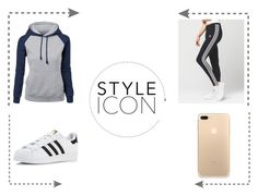 """""""Style Icon"""" by galaxyblue3 on Polyvore featuring adidas"""