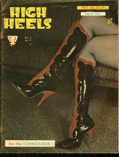 High Heels vol 2 no 3 1963 vintage adult straight magazine collectible