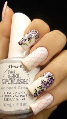 Stamping Nail Art: Lesly Plates #nailart