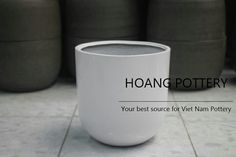 Pottery Pots, Fiberglass Planters, Flower Pots, Vietnam, Fill, Exterior, Website, Decoration, Simple