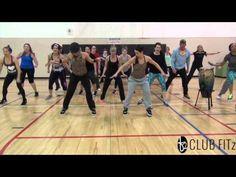 """DELIRIOUS"" @SteveAoki (Choreo by Kelsi) #clubfitzfitness - YouTube"