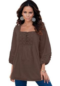8160e2c74ce Brown for fall~ Big Girl Fashion