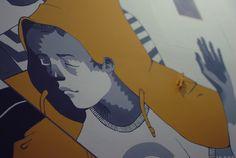 Mural in Café Pub Bruderschaft on Behance
