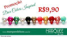 Promoção!!! Confere no nosso site a super promoção de brincos Dior Colors Inspired... Apenas R$9,90!!! Não perca e renove seus acessórios para o verão. www.marqueedeluxe.com.br contato@marqueedeluxe.com.br