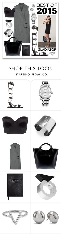 """""""best 2015"""" by gogotasha ❤ liked on Polyvore featuring Ancient Greek Sandals, Calvin Klein, Ultimo, Tuleste, Marc by Marc Jacobs, Massimo Castelli, Sloane Stationery, Moonsoo Kim, ChloBo and Chico's"""