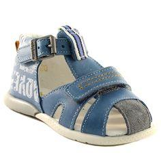 174A BABYBOTTE GEORGIE BLEU www.ouistiti.shoes le spécialiste internet #chaussures #bébé, #enfant, #fille, #garcon, #junior et #femme collection printemps été 2016