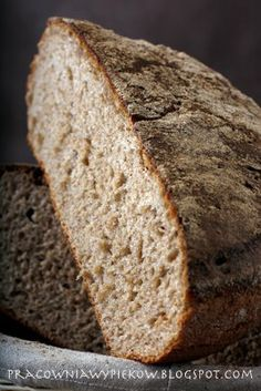 wheat-rye bread [with or without yeast] Rye Bread, Bread Rolls, American Apple Pie, Our Daily Bread, Polish Recipes, Bread Baking, Pain, Bread Recipes, Sweet Tooth