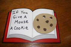 If you Give a Mouse a Cookie. Awesome activities in this blog post. - Re-pinned by #PediaStaff. Visit http://ht.ly/63sNt for all our pediatric therapy pins