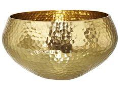 Nate Berkus hammered brass bowl. $4.50 on sale.