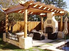 outside living spaces ideas - Google Search