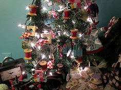 christmas tree for sewing room - Google Search