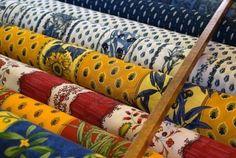 Design de la Provence tissus vendus par la cour  Provencal fabrics