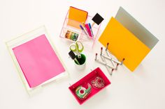 Organize your workspace with these DIY desk caddies.