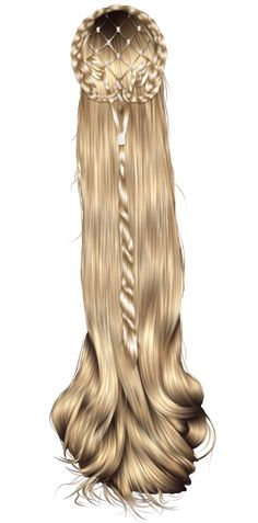 Fantasy Hair 13 by ~hellonlegs on deviantART