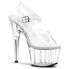 """High Heels Pleaser Shoes Damenschuhe  /""""ECLIPSE-619G/"""""""